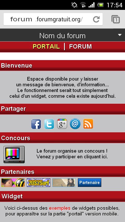 [Mobile] Pouvoir ajouter un portail (simple) à la version mobile Portai10