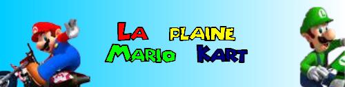 La plaine Mario Kart