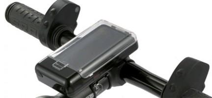 iBikeConsole: supporto da bicicletta per iPod Ibikec10