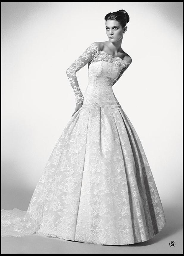 Vestidos de novia Nibila10