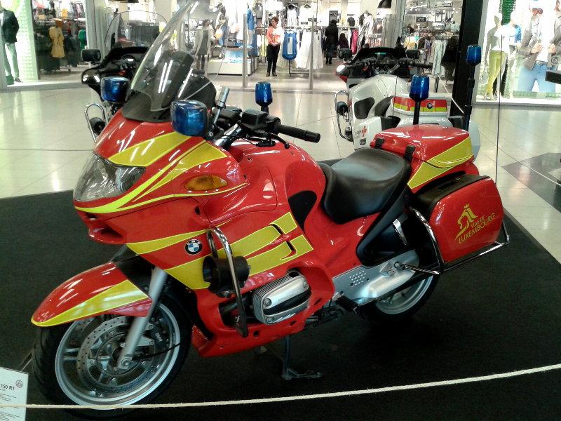 Blaulicht Motorräder 62610