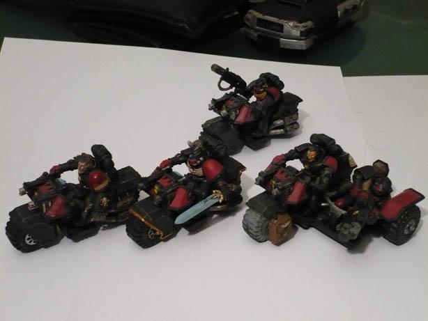 Galerie de Dindon: Space Marines et autres ! Motos10