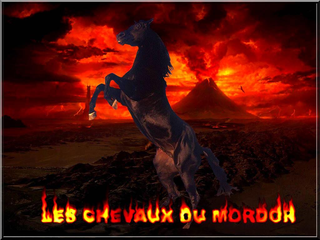 les chevaux du Mordor