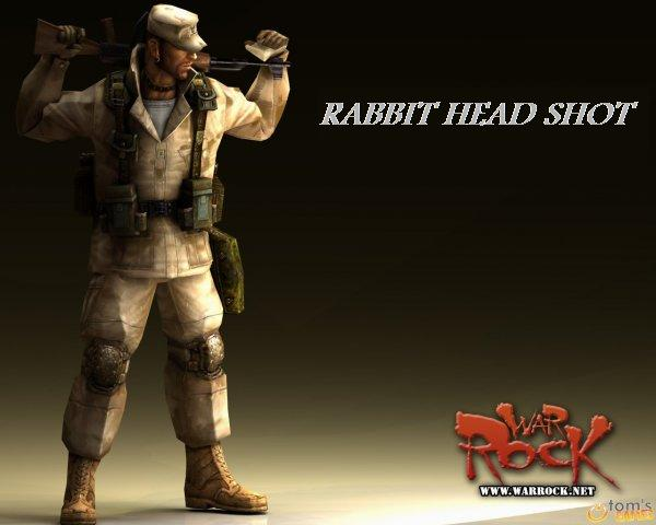 Rabbit Head shot