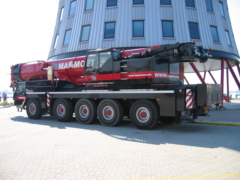 000 945, Liebherr LTM 1200/1 (2003) tijdens Clubdag 2004 Mammoe18