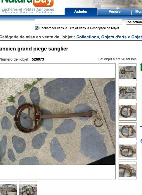 LE PIÉGEAGE, Pieges10