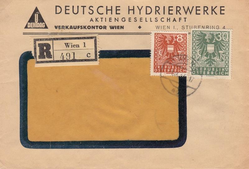 Wappenzeichnung  -  ANK 714-736 - Belege Img12