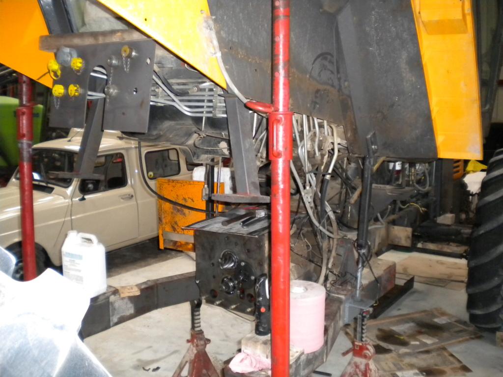 145/14 TX Dépose du pont arrière Dscn4114