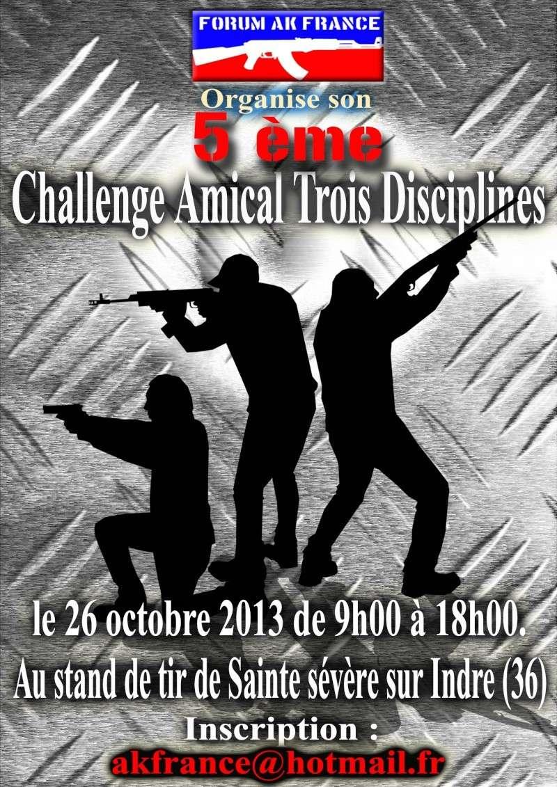 challenge amicale trois disciplines Affich13