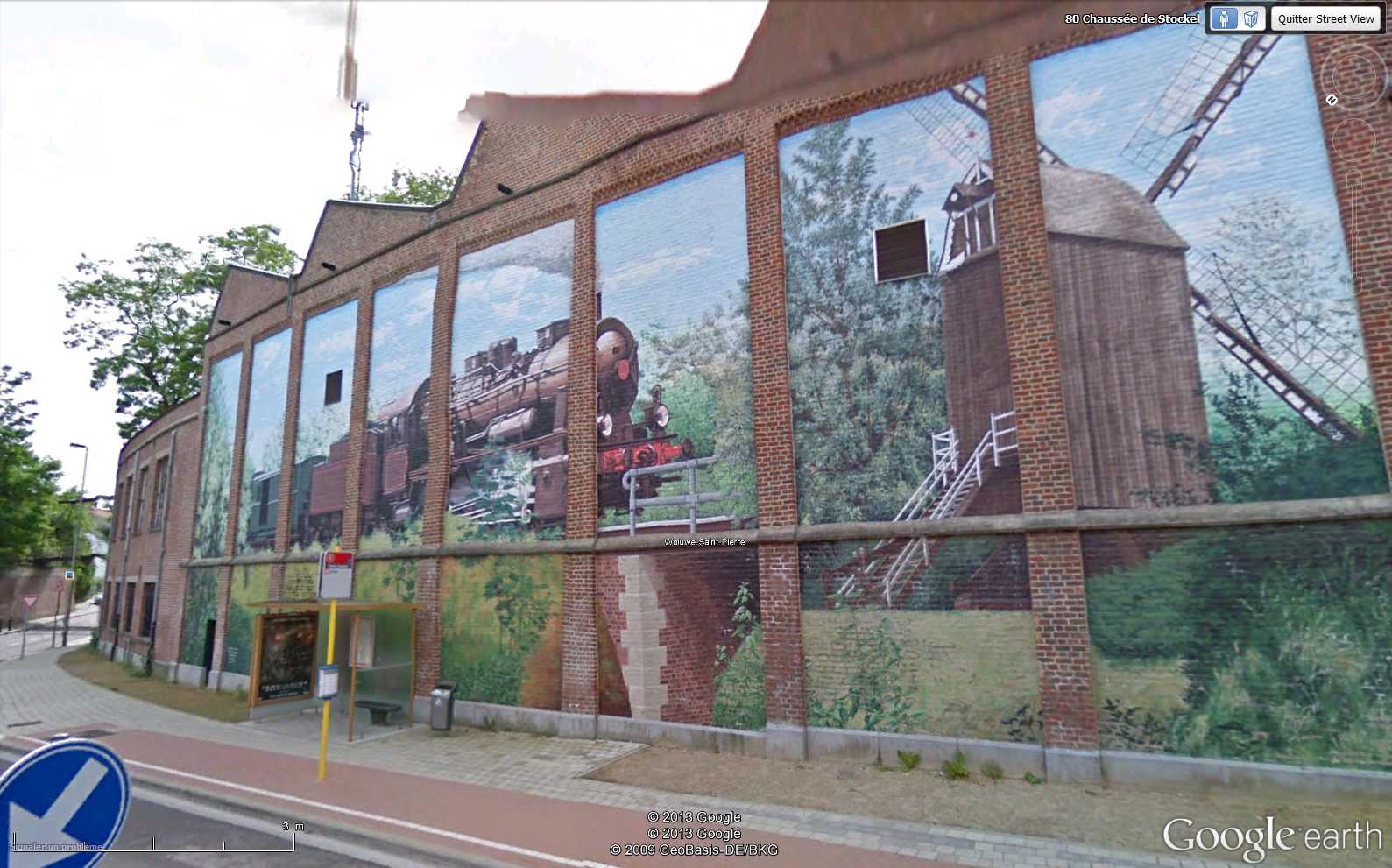 STREET VIEW : les fresques murales - MONDE (hors France) - Page 13 2013-012
