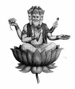 YHWH est le Père de l'Hindouisme - Page 2 Brahma10