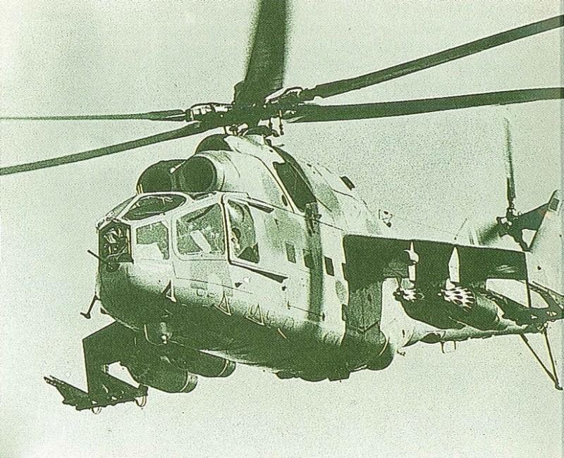 "AFGHANISTAN 1980 ... au 09/02 Mil mi 24 A ""Hind"" terminé 71b2f810"