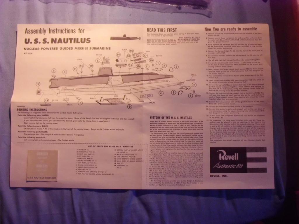 [REVELL] Sous-marin nucléaire d attaque SSN 571 USS NAUTILUS 1/305ème Réf H305  Cimg6843