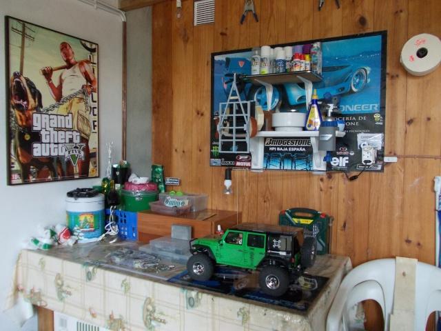Fotos del lugar donde arreglamos y guardamos nuestros bajas Dscn1414