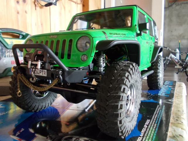 Axial scx10 Jeep Wrangler Unlimited Rubicon KIT - Página 4 Dscn1420