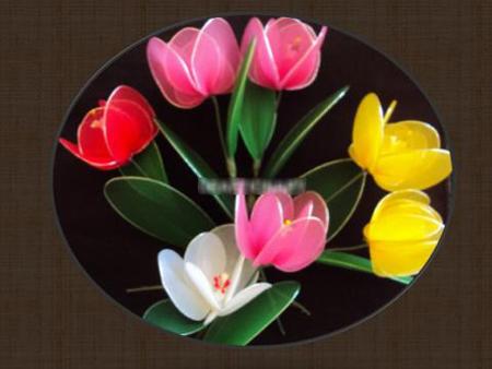 Hoa lụa trang trí nhà 11012729