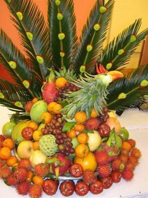 Mâm ngũ quả đẹp cho năm mới sung túc Qua110
