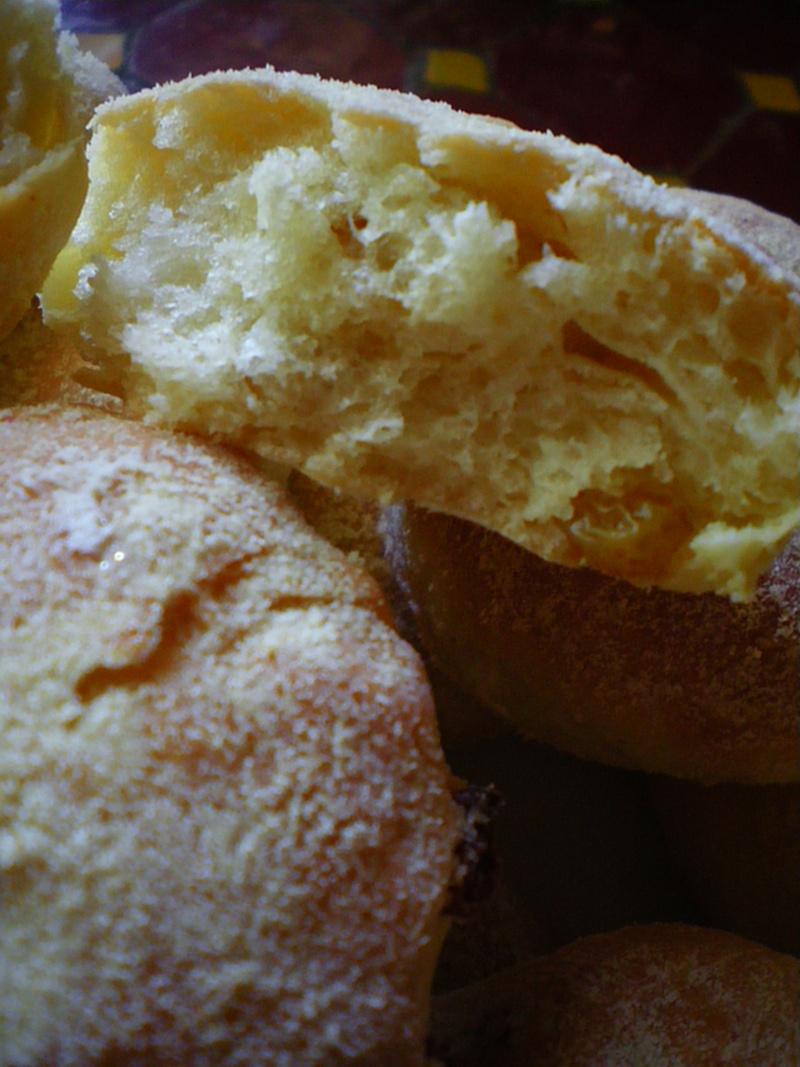 Muffins natures et aux raisins secs.. Imgp0122