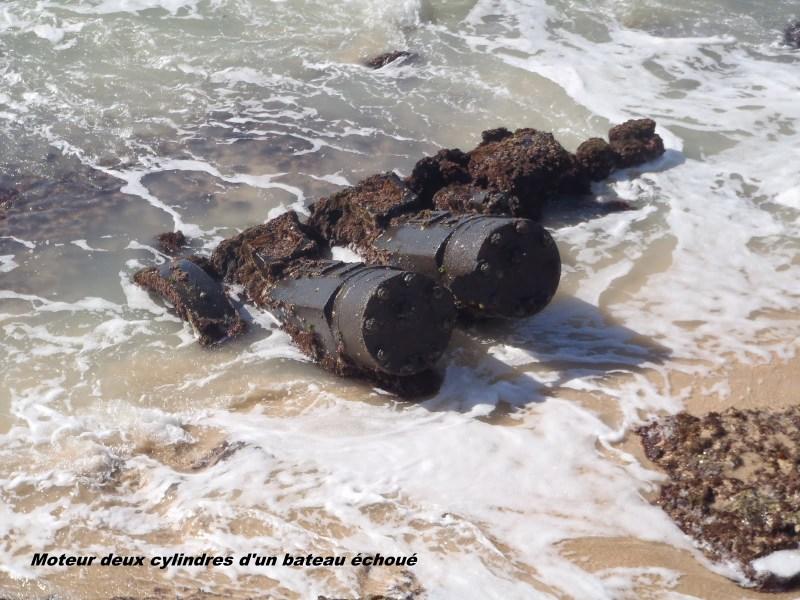 Quel endroit se moteur de bateau échoué 070-p310