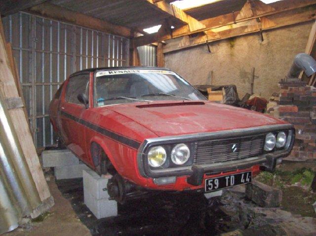 Restauration d'une Renault 17 TL Découvrable de 1973 000110