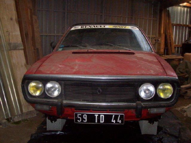 Restauration d'une Renault 17 TL Découvrable de 1973 000210