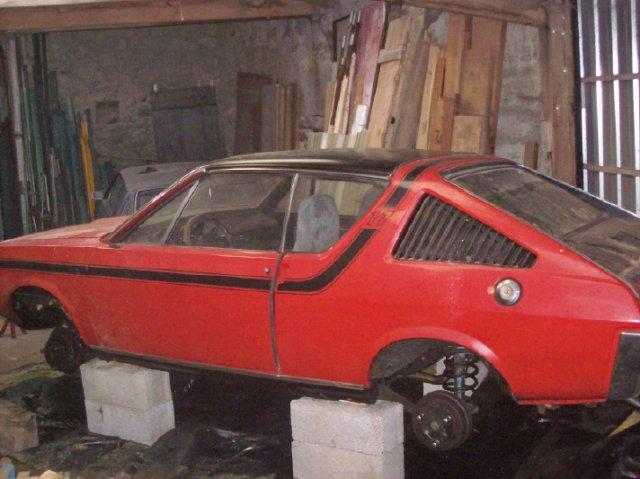Restauration d'une Renault 17 TL Découvrable de 1973 000310