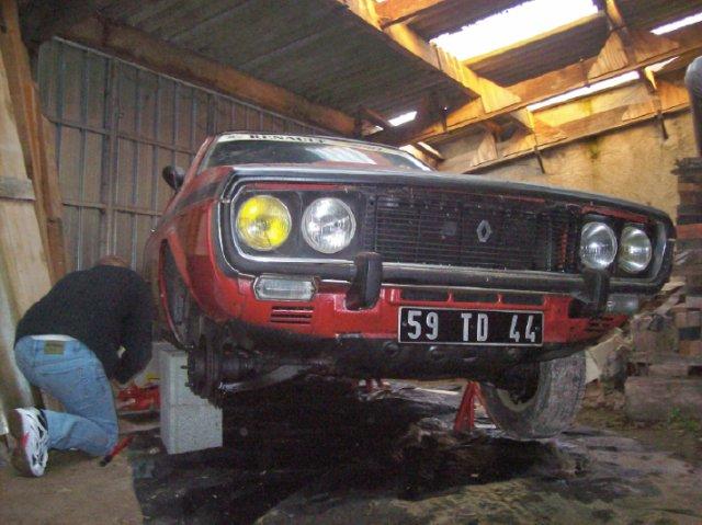 Restauration d'une Renault 17 TL Découvrable de 1973 000611