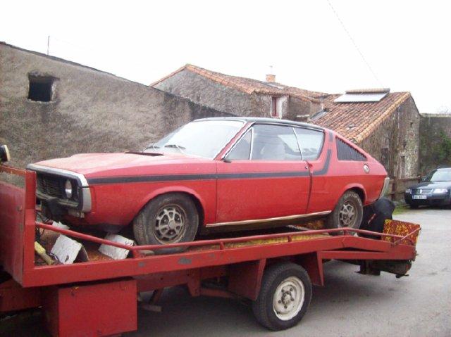 Restauration d'une Renault 17 TL Découvrable de 1973 000710