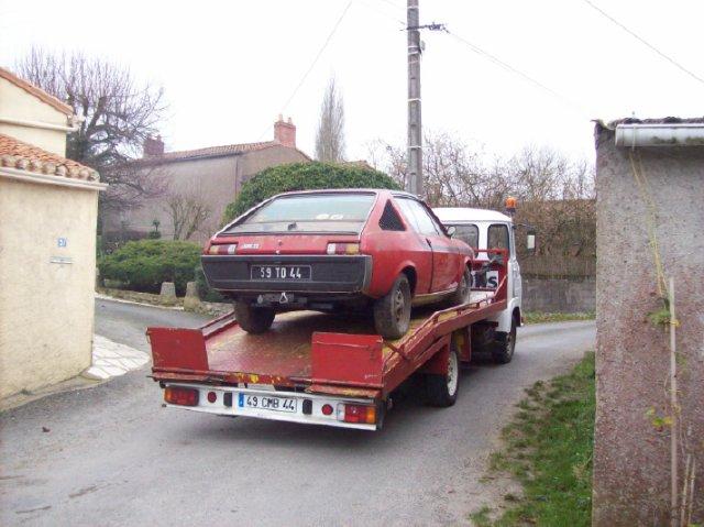 Restauration d'une Renault 17 TL Découvrable de 1973 000810