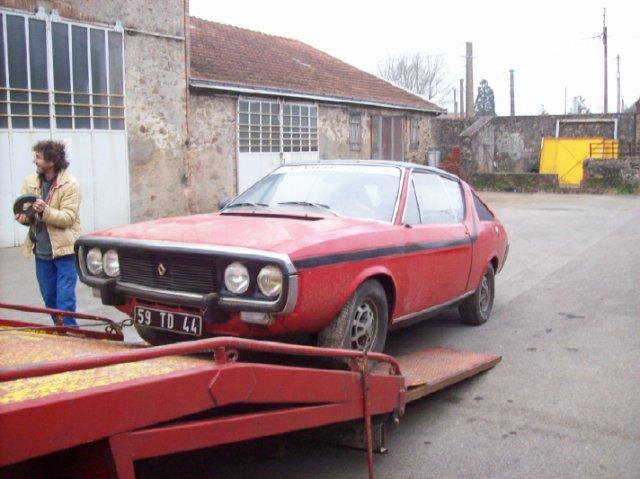 Restauration d'une Renault 17 TL Découvrable de 1973 000910