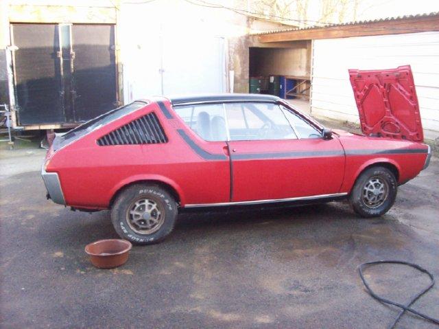 Restauration d'une Renault 17 TL Découvrable de 1973 001010