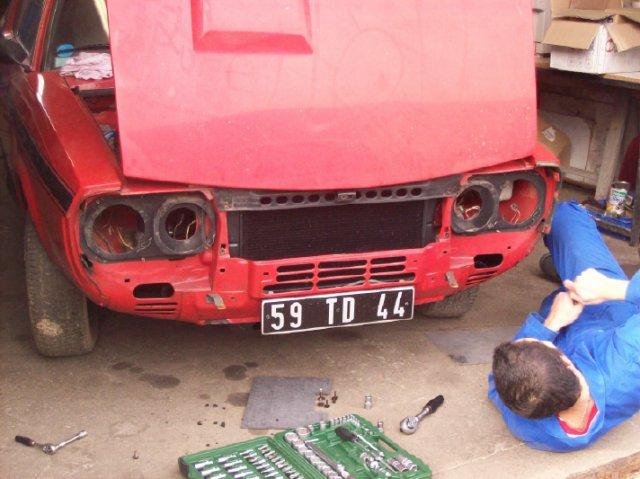 Restauration d'une Renault 17 TL Découvrable de 1973 001311