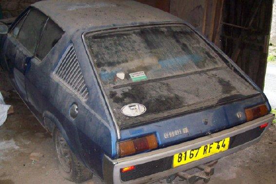 Restauration d'une Renault 17 TL Découvrable de 1973 001410
