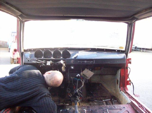 Restauration d'une Renault 17 TL Découvrable de 1973 001511