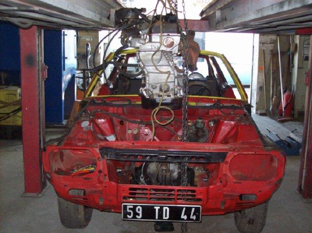 Restauration d'une Renault 17 TL Découvrable de 1973 001710