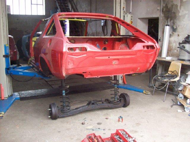 Restauration d'une Renault 17 TL Découvrable de 1973 001810