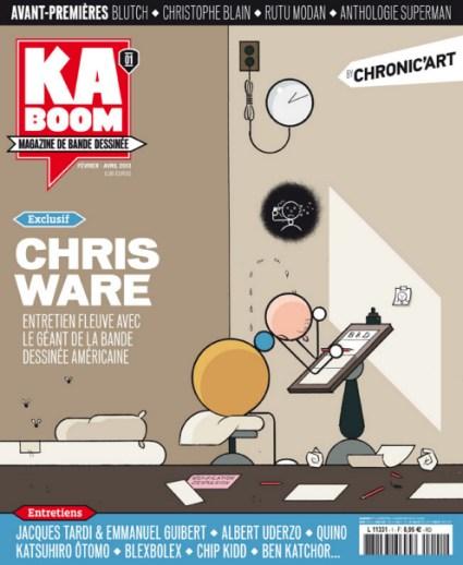 Kaboom, une nouvelle revue sur la BD Kaboom10