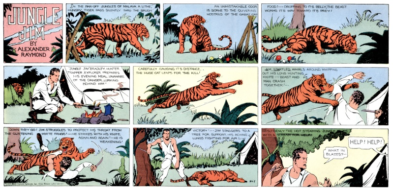 Alex RAYMOND et ses personnages - Page 3 Jungle11