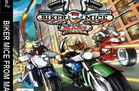 Mice Mystics Biker-10