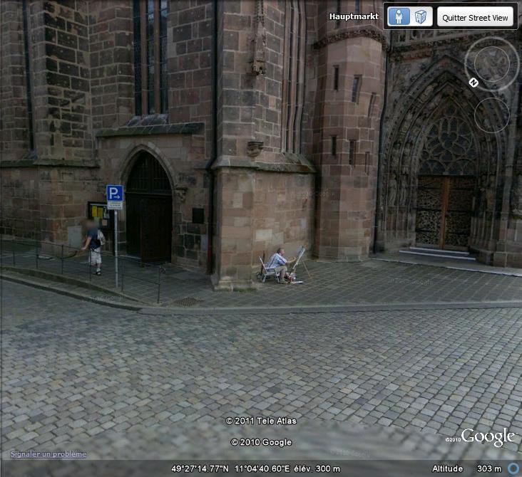 STREET VIEW : Peintre amateur à Nuremberg ( Allemagne ) Peintr10