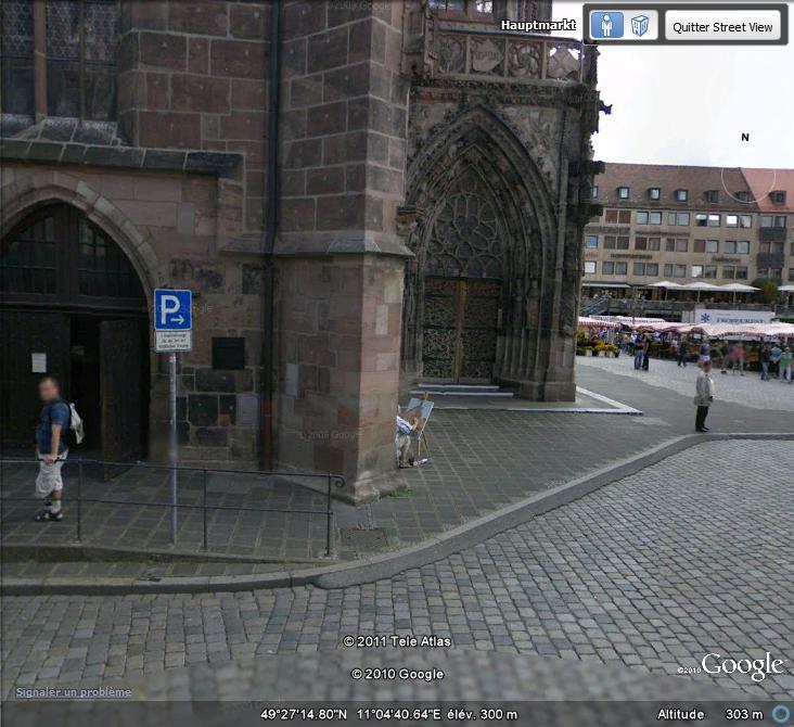 STREET VIEW : Peintre amateur à Nuremberg ( Allemagne ) Peintr11