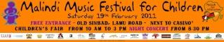 Malindi Music Festival for Children – II Edizione 19 febbraio Banner13