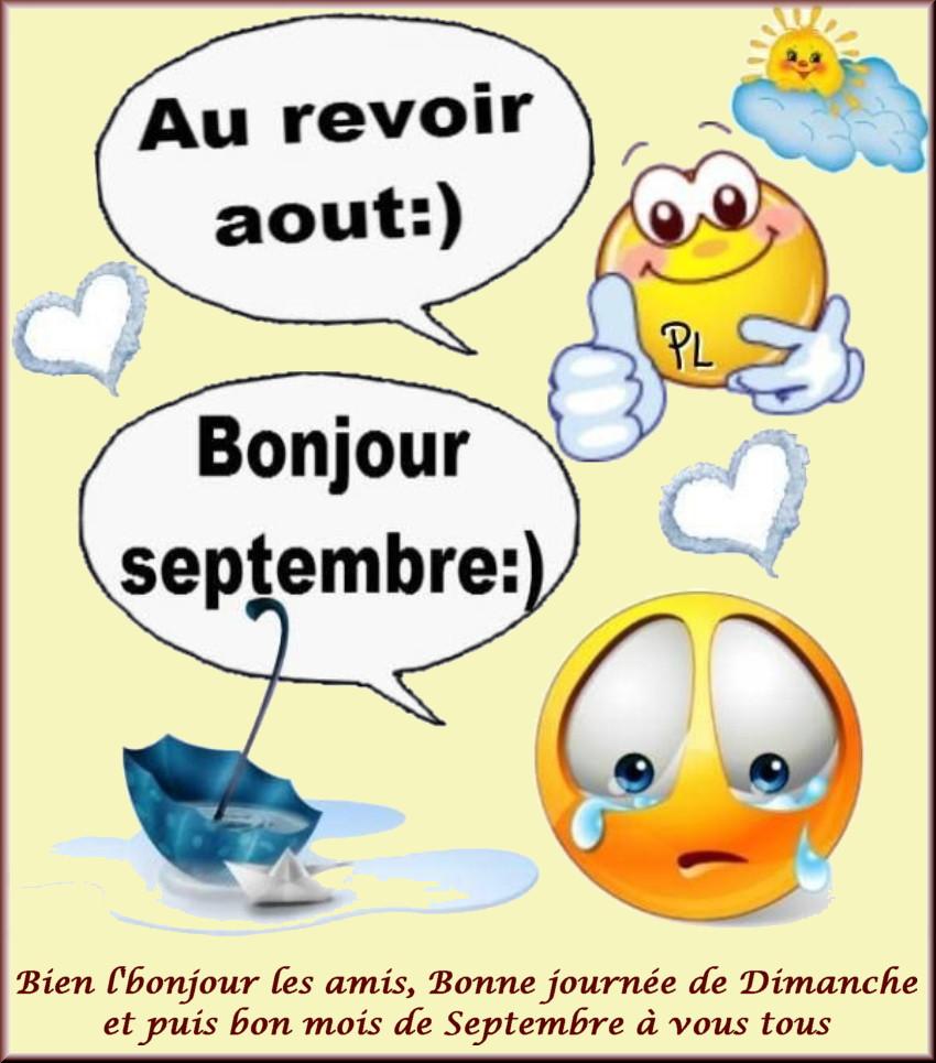 Les bonjours et contacts jounaliers du Mois de Septembre 2019 01091910