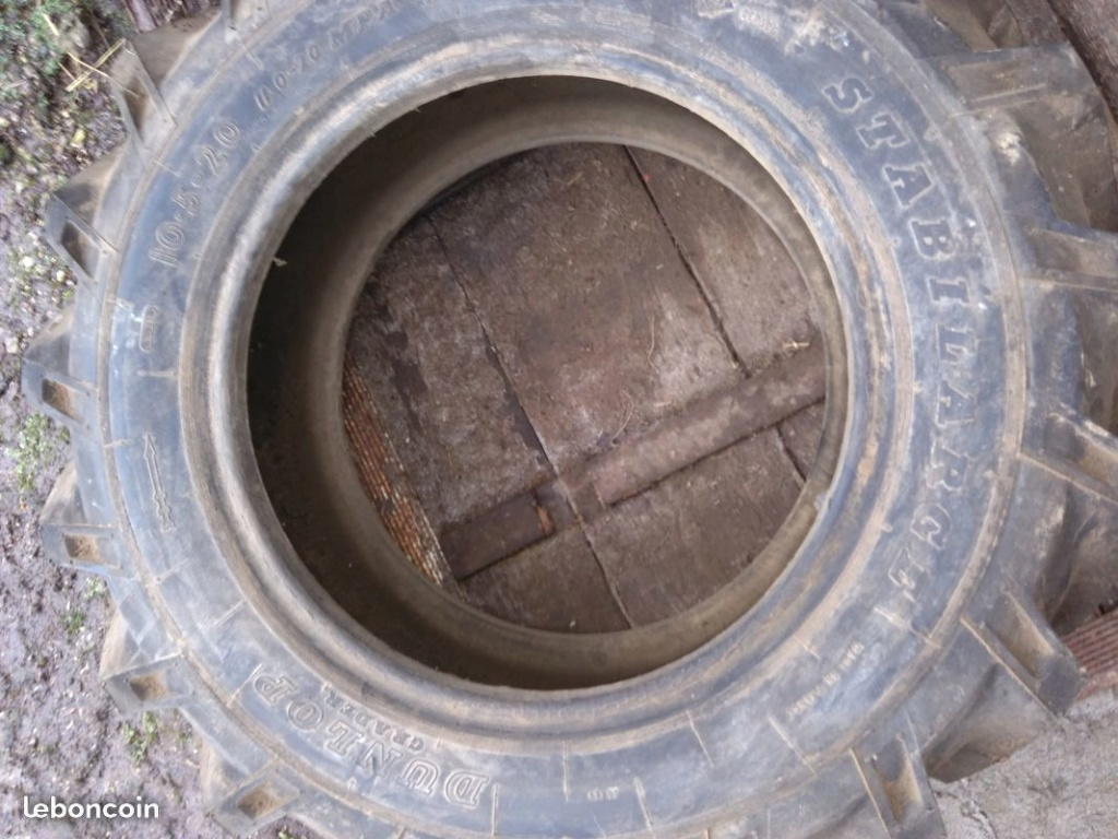 Annonce LBC - Pneu 10.5 x 20 Bonne affaire pour roue de secours 1c130910