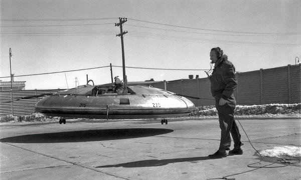 VZ-9 Avrocar de l'USAF Ae10