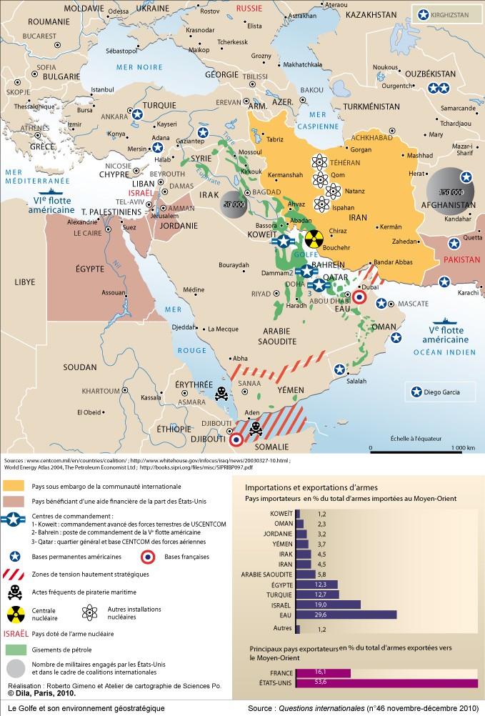 dossier - Dossier sur l'Iran, géostratégie, manipulation, nucléaire, future guerre, cartes Le_gol10
