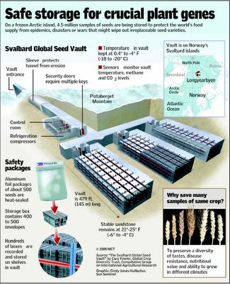 Dossier sur le projet Svalbard, le CGIAR , Bill Gates et banque mondiale des semences Svalba10