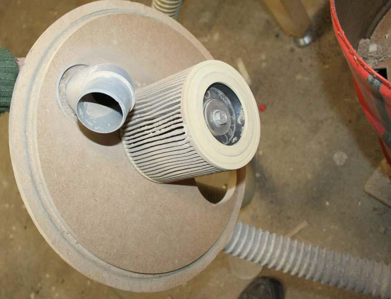 Adaptation aspirateur à copeaux Aspi0210