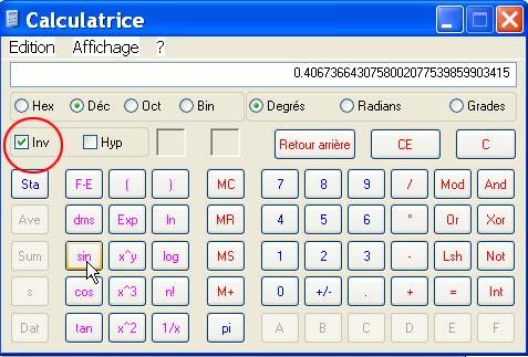 Calculs trigonométriques Calcul10