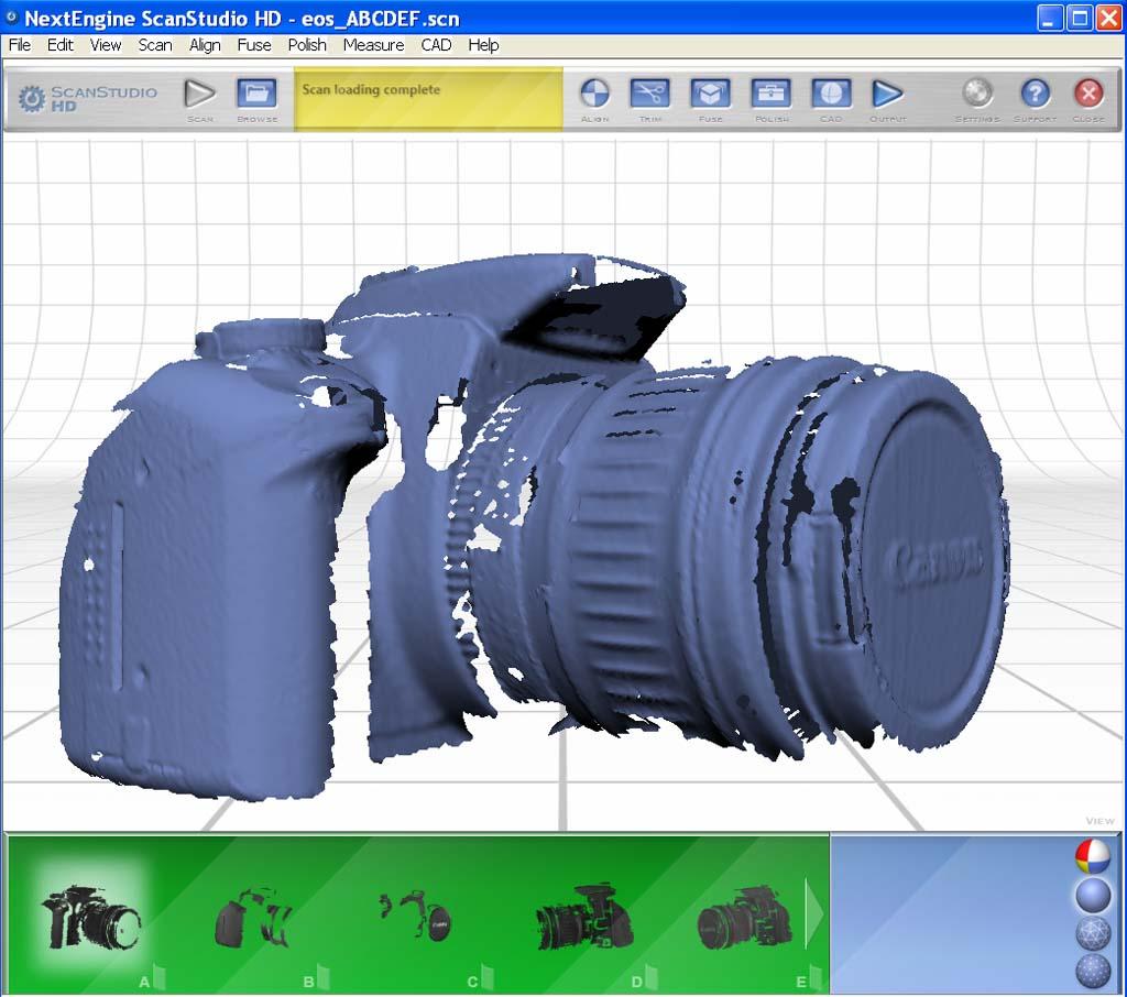 nextengine - [Scanner 3D] NextEngine HD présentation et essais. Eos110